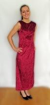 Röd klänning