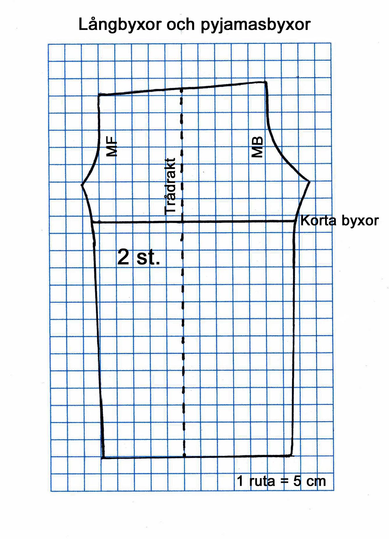 09fb134b627d Långbyxor och pyjamasbyxor för dam och herr | Textil och tips