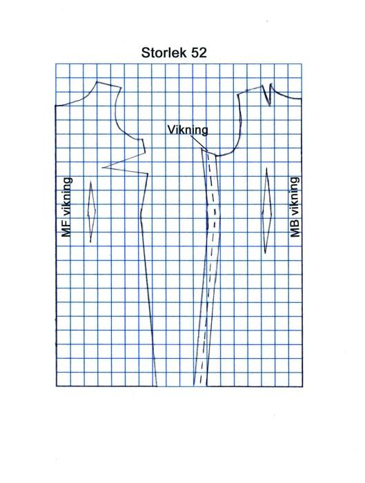 Ärmlösklänning 52