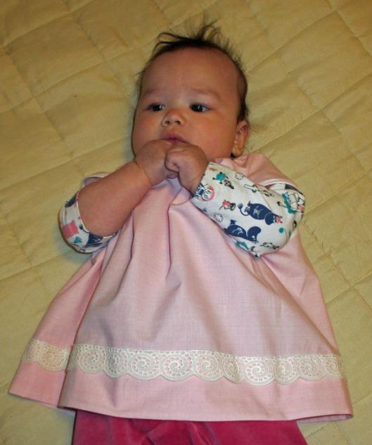 Rosa klänning 2