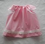 Rosa klänning 3