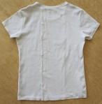T-shirt baksida stängd