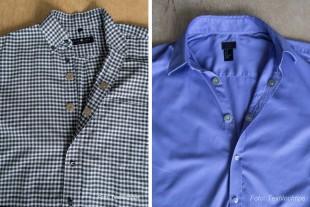 två magnetskjortor