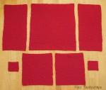 röd stickad 2