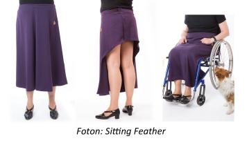 157. 23x13,4x180 Sitting Feather Sofia-ändlös